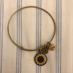 *RETIRED* Alex and Ani Sunflower Bangle